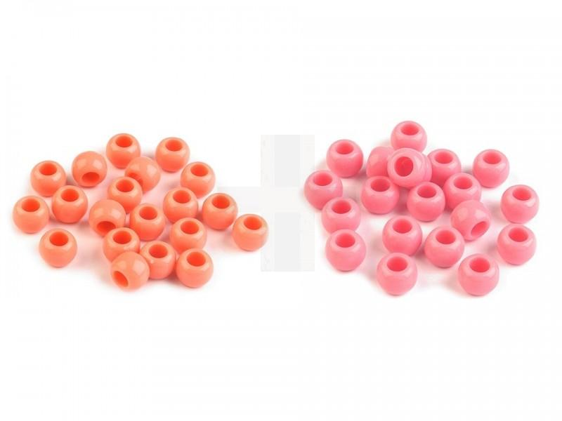 Műanyag gyöngy - 50 db/csomag