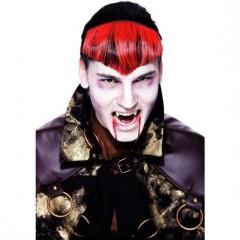 Vámpír póthaj - Fekete-piros Halloween