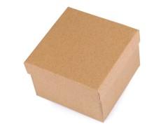 Doboz természetes 9x9 cm Ékszerdoboz, tárolás