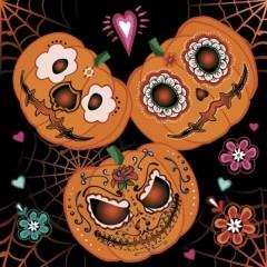 Halloween party szalvéta - 20 db/csomag Halloween