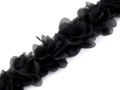Paszomány gumin - Fekete Lakásdekoráció