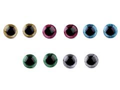 Biztonsági szemek glitterrel - 2 pár Plüssállat kellék