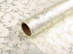 Csillámos szatén - 4,5 m Dekorációs szövet