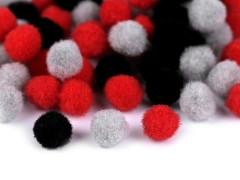 Bojtcsomag 10 mm - Vegyes színek Rojt, bojt