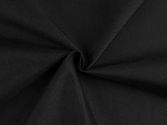 OXFORD vizlepergető textil 600D - Fekete Vizlepergető, fürdőruha anyag