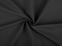 Softshell téli vizálló textil - Fekete Vizlepergető, fürdőruha anyag