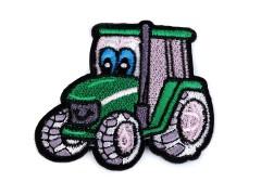 Felvasalható traktor Vasalható, varrható folt