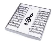 Díszdobozos zsebkendő - Hangjegy Zsebkendő