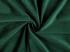 Bársony anyag strukturált - Zöld Plüss, bársony, frottir