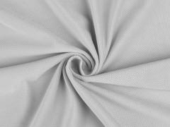 Bársony anyag strukturált - Halványszürke Plüss, bársony, frottir