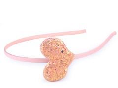 Hajpánt szív glitterekkel  Jelmez