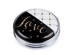 Kozmetikai tükör Love Ajándék ötlet hölgyeknek