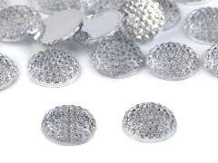 Csiszolt kövek - 20 db/csomag Varrható, ragasztható dísz