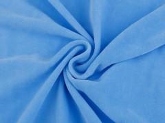 Frottir plüss egyszínű - Kék Plüss, bársony, frottir