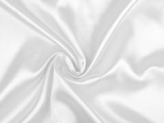 Elasztikus szatén - Fehér Tüll, Szatén,Taft anyag