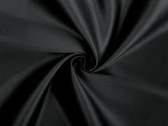 Erős szatén anyag - Fekete Tüll, Szatén,Taft anyag