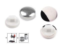 Behúzható gomb 10,1 mm - 100 db Gomb, kapocs