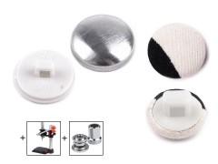 Behúzható gomb 14 mm - 100 db Gomb, kapocs