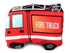 Dekorációs párna belsővel - Tűzoltó autó Lakástextil