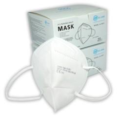 FFP2 szűrős egészségügyi maszk külön csomagolt Egészségügyi kellék