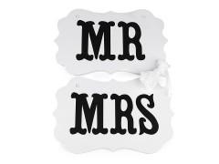MR és MRS tábla akasztóval Tábla, faliújság
