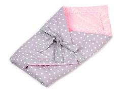Minky puha pólya - Rózsaszín Gyerek divat