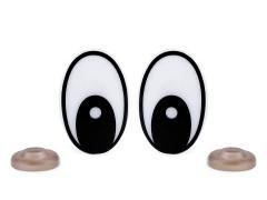 Biztosnágos szemek - 4 szett/csomag Plüssállat kellék