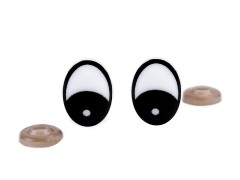 Biztonsági szemek - 4 szett/csomag Plüssállat kellék