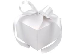 Ajándék papírdoboz szalaggal - 10 db/csomag Ajándék csomagolás