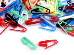 Biztostű zárható szemjelölő - 20 db/csomag Műanyag rövidáru