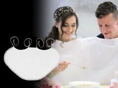 Alkalmi partedli csipkével Esküvői díszítés