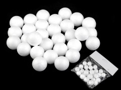 Hungarocell golyók - 35 db Hungarocell,műanyag kellék