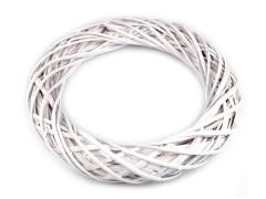 Fehér vessző koszorú - 45 cm Koszorú