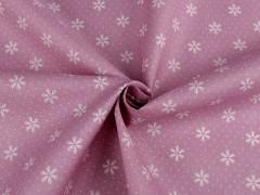 Dekor anyag hópihés - Rózsaszín Poliészter, kevert anyag