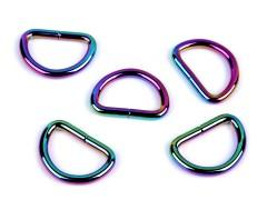 Félkarika szivárványos - 5 db Fém-,mágnes kellék