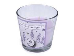 Illat gyertya üvegben - Levendula Gyertya, illatosító