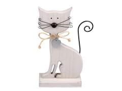 Fa cica dekoráció