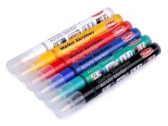 Kreativ akril ceruza Festék, ecset