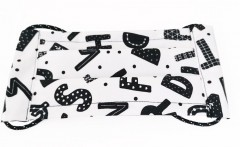 Pamut bélelt szájmaszk - Mintás (Magyar termék) Egészségügyi kellék