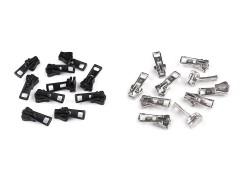 Cipzárkocsi fogazott cipzárhoz- 5 db/csomag Cipzár,-kellék,tépőzár