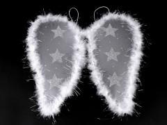 Angyal szárny tollakkal Jelmez