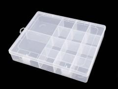 Műanyag doboz 4x17x21 cm Eszköz, kellék