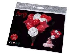 Felfújható ballon szett konfettivel Party díszités