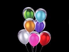 Felfújható fényes ballon szett Party díszités