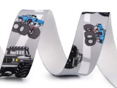 Gumi szalag 25 mm - Autó mintás Szalag, gumi