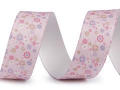 Gumi szalag 25 mm - Rózsaszín Szalag, gumi