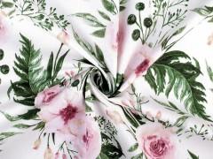 Pamut anyag rózsa