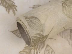 Dekor anyag levelek - 9 méter Dekorációs szövet