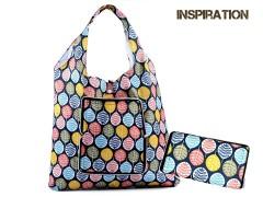 Összehajtható bevásárlótáska - 10 szín Táska,pénztárca kellék