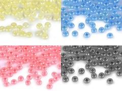 Üveggyöngy gyöngyházas - 50 gr./csomag Gyöngy-,gyöngyfűző